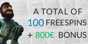 SlotsMillion Casino: €800 plus 100 freespins